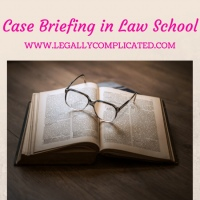 Case Briefing in Law School