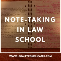Note-Taking in Law School
