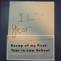 Recap of my First-Year in Law School