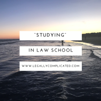 """Studying"" in Law School"